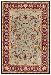 Safavieh Heritage HG794A Light Blue - Red Area Rug