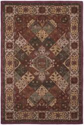 Safavieh Heritage Hg917a Rust - Ivory Area Rug