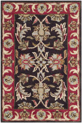 Safavieh Heritage Hg951a Chocolate / Red Area Rug
