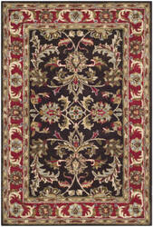 Safavieh Heritage HG951A Chocolate - Red Area Rug