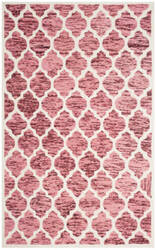 Safavieh Himalaya Him121b Red - Ivory Area Rug