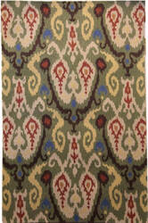 Safavieh Chelsea Hk382c Green - Multi Area Rug