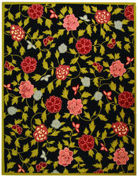 Safavieh Chelsea HK714B Black / Green Area Rug