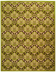 Safavieh Chelsea HK715B Brown / Green Area Rug