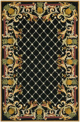Safavieh Chelsea HK728A Black / Multi Area Rug