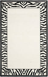 Safavieh Chelsea HK731A White / Black Area Rug