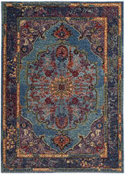 Safavieh Harmony Hmy402a Blue - Purple Area Rug