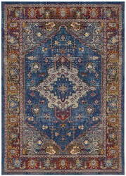 Safavieh Harmony Hmy404r Blue - Rose Area Rug