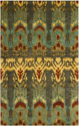 Safavieh Ikat IKT464B Olive / Gold Area Rug