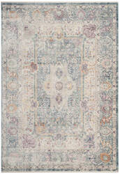Safavieh Illusion Ill704k Teal - Cream Area Rug