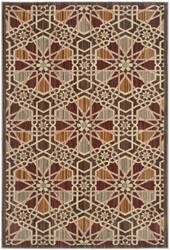 Safavieh Infinity Inf560b Brown / Beige Area Rug