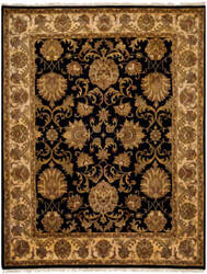 Safavieh Imperial Jap425a Black - Ivory Area Rug