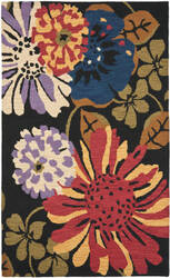 Safavieh Jardin Jar321a Black / Multi Area Rug