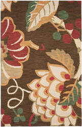 Safavieh Jardin Jar326a Brown / Multi Area Rug