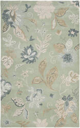 Safavieh Jardin Jar451a Light Green / Multi Area Rug