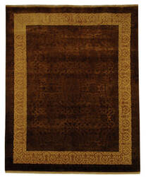 Safavieh Jewel Of India Jwl600b Chocolate - Light Gold Area Rug