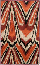 Safavieh Kashmir Kas114a Orange / Multi Area Rug