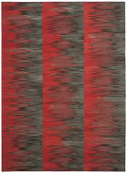 Safavieh Kilim Klm819c Red - Charcoal Area Rug