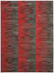 Safavieh Kilim Klm819c Red - Charcoal Area Rug