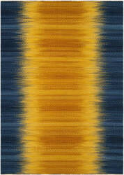 Safavieh Kilim Klm821b Dark Blue - Yellow Area Rug