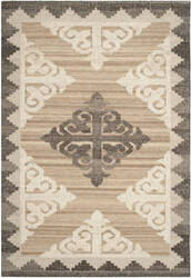 Safavieh Kenya Kny312a Brown / Charcoal Area Rug