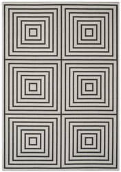 Safavieh Linden Lnd123a Light Grey - Charcoal Area Rug