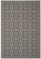 Safavieh Linden Lnd134a Light Grey - Charcoal Area Rug