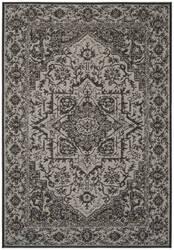Safavieh Linden Lnd139a Light Grey - Charcoal Area Rug