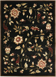 Safavieh Lyndhurst Lnh552 Black / Multi Area Rug