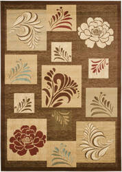 Safavieh Lyndhurst Lnh554 Brown / Multi Area Rug