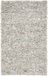 Safavieh Leather Shag Lsg511c White Area Rug