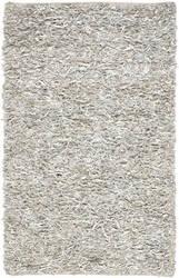 Safavieh Leather Shag Lsg511c White Area Rug