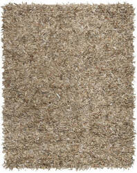 Safavieh Leather Shag Lsg601h Beige Area Rug
