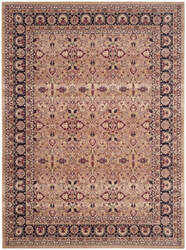 Safavieh Lavar Kerman Lvk620a Cream - Navy Area Rug