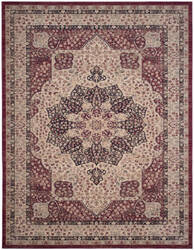 Safavieh Lavar Kerman Lvk621b Creme - Red Area Rug
