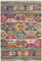 Safavieh Madison Mad118c Blue - Fuchsia Area Rug