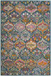 Safavieh Madison Mad144a Blue - Orange Area Rug