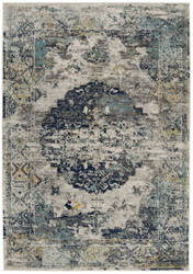 Safavieh Madison Mad158f Light Grey - Blue Area Rug