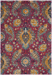 Safavieh Madison Mad600a Fuchsia - Gold Area Rug