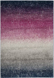 Safavieh Madison Mad601m Fuchsia - Navy Area Rug