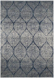 Safavieh Madison Mad604g Navy - Silver Area Rug