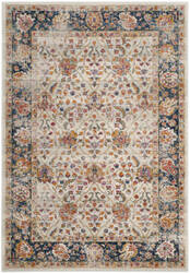 Safavieh Madison Mad609d Cream - Navy Area Rug
