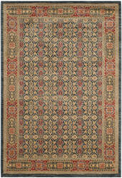 Safavieh Mahal Mah623k Light Blue - Red Area Rug