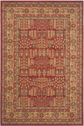 Safavieh Mahal Mah697a Red - Natural Area Rug