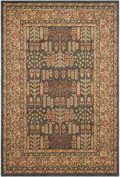 Safavieh Mahal Mah697e Navy - Natural Area Rug