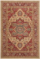 Safavieh Mahal Mah698a Red - Natural Area Rug