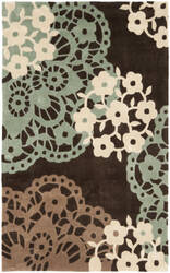 Safavieh Modern Art Mda612a Brown / Multi Area Rug