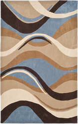Safavieh Modern Art Mda617a Blue / Brown Area Rug