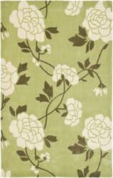 Safavieh Modern Art Mda622b Green / Ivory Area Rug
