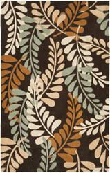 Safavieh Modern Art Mda625a Brown / Multi Area Rug